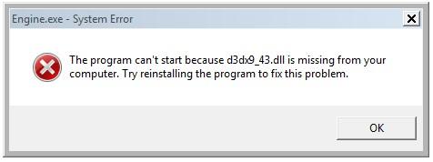 D3DX9 43 DLL